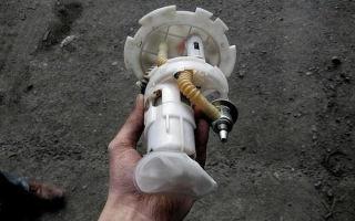 Топливный фильтр грубой очистки Шевроле Круз