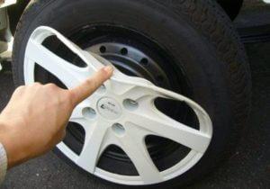 Декоративный колпак для шины