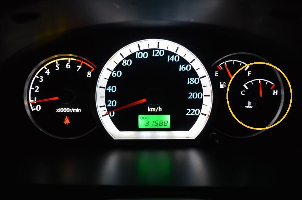 Датчик температуры двигателя Шевроле Лачетти