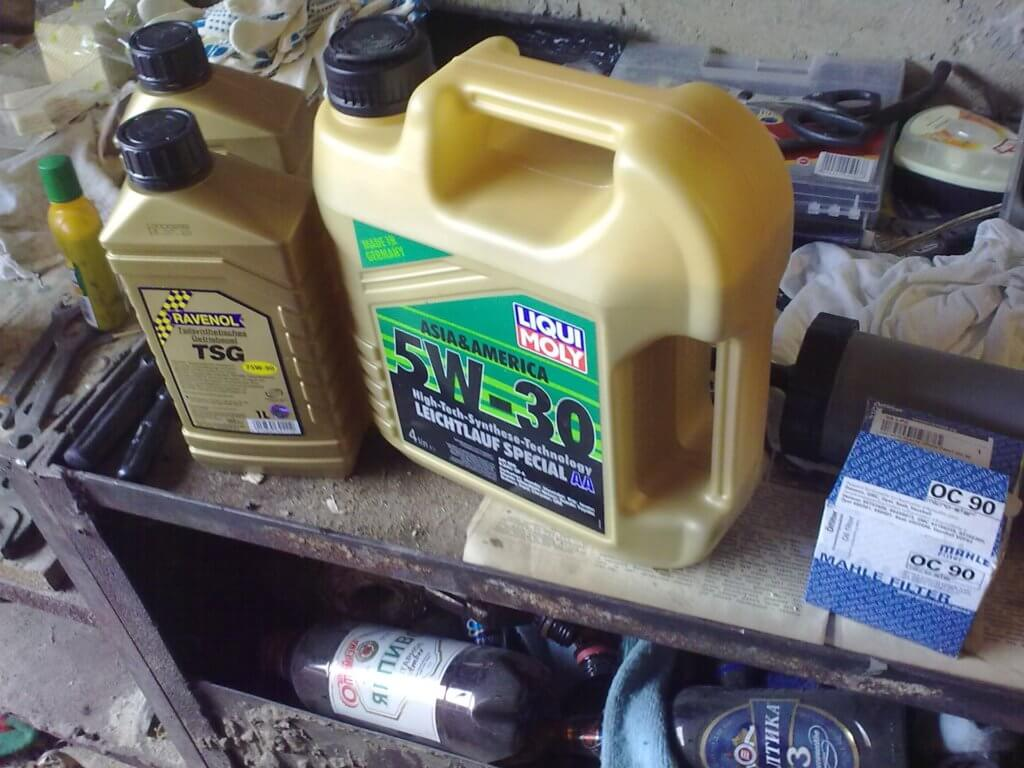 масло КПП в лачетти